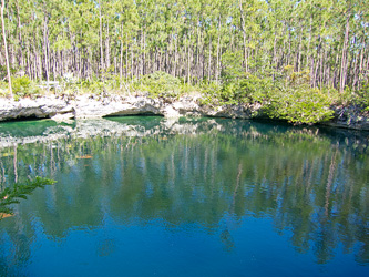 Uncle Charlie's Blue Hole